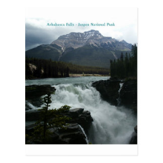 Carte Postale Athabasca tombe parc national de jaspe