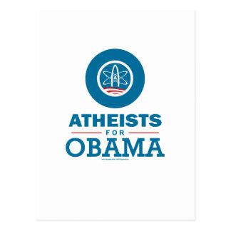 Carte Postale Athées pour Obama