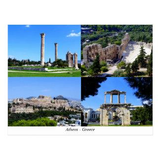 Carte Postale Athènes - la Grèce