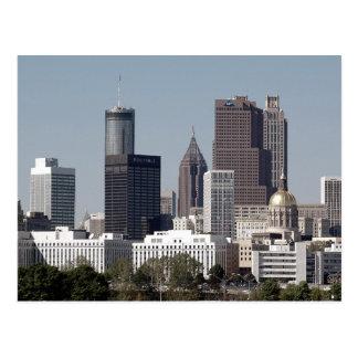 Carte Postale Atlanta Geogia