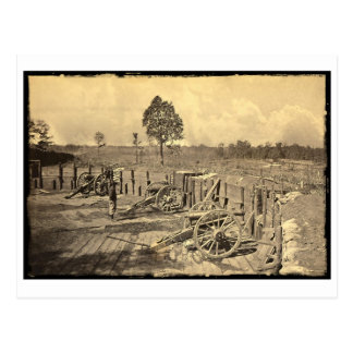 Carte Postale Atlanta, guerre civile de GA USA