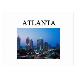 Carte Postale ATLANTA la Géorgie