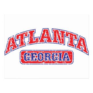 Carte Postale Atlanta sportif
