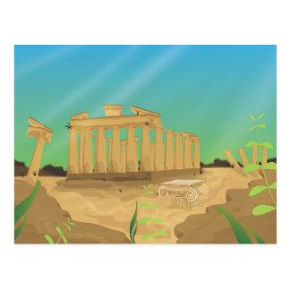 Carte Postale Atlantas