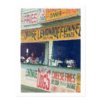Carte Postale Atlantic City