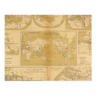 Carte Postale Atlas