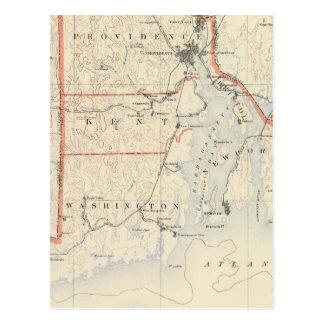 Carte Postale Atlas 2 d'Île de Rhode
