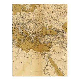 Carte Postale Atlas 5