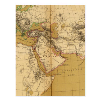 Carte Postale Atlas 6