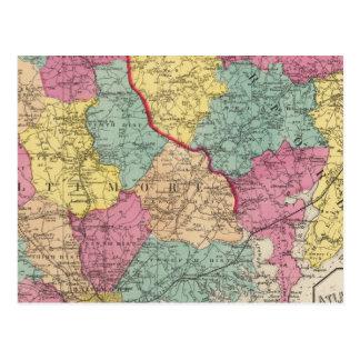 Carte Postale Atlas topographique des comtés 3 du Maryland