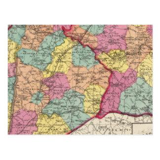Carte Postale Atlas topographique des comtés 5 du Maryland