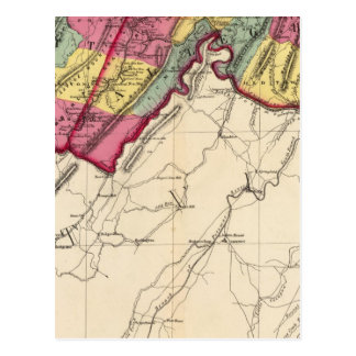 Carte Postale Atlas topographique des comtés du Maryland