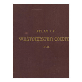 Carte Postale Atlas Westchester Co, NY