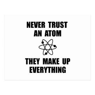 Carte Postale Atome de confiance