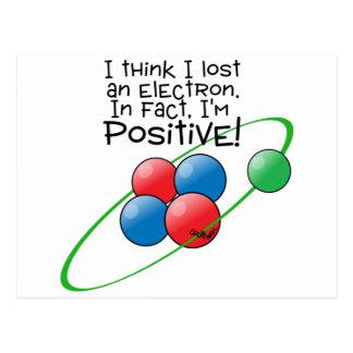 Carte Postale Atome positif