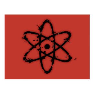 Carte Postale Atomics nucléaire !