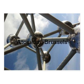 Carte Postale Atomium, Bruxelles