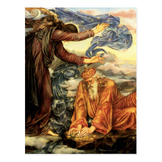 Carte Postale Attaché à la terre par Evelyn De Morgan