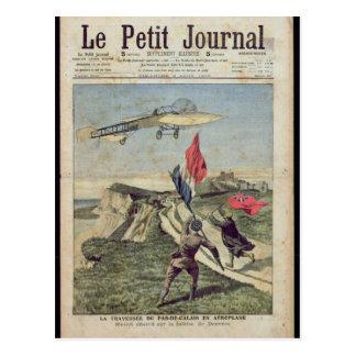 Carte Postale Atterrissage de Louis Bleriot à Douvres