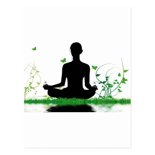 Carte Postale attitude zen