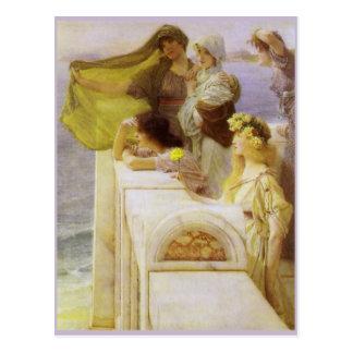 Carte Postale Au berceau de l'Aphrodite par monsieur Lawrence