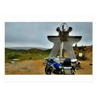 Carte Postale Au cap du nord (Norvège), par l'intermédiaire du