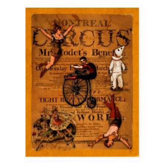 Carte Postale Au cirque