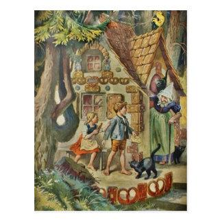 Carte Postale Au cottage de la sorcière