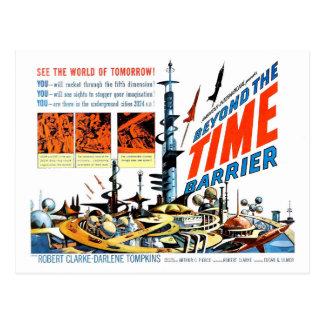 Carte Postale Au delà de la barrière de temps