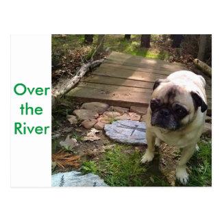 Carte Postale Au-dessus de la rivière