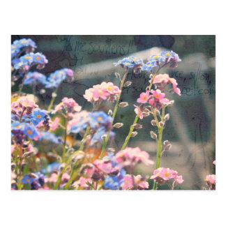 Carte Postale Au printemps jardin