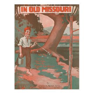 Carte Postale Au vieux Missouri