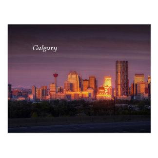 Carte Postale Aube de Calgary