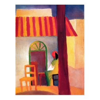 Carte Postale August Macke - café turc I