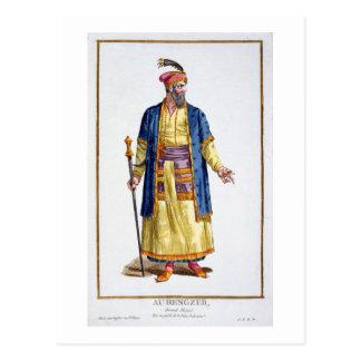 Carte Postale Aurengzeb, grand Khan des hordes mongoles du Re