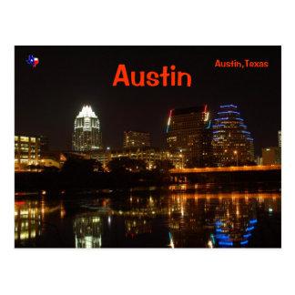 Carte Postale Austin, le Texas
