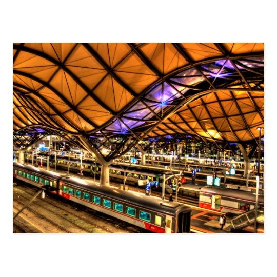 Carte Postale Australia - Melbourne - Victoria - Southern Cross