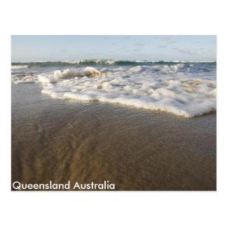 Carte postale australienne de plage