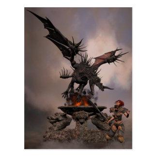 Carte Postale Autel de dragon