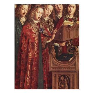 Carte Postale Autel de janv. van Eyck- The Gand (détail)