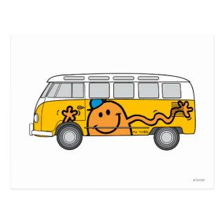 Carte Postale Autobus de chatouillement