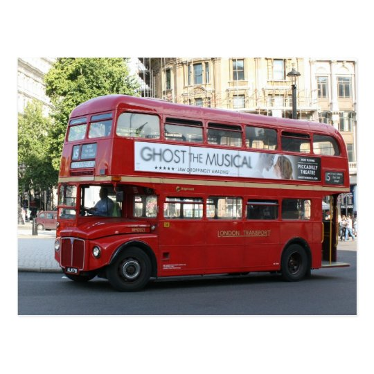 Carte Postale Autobus de Londres | Zazzle.fr