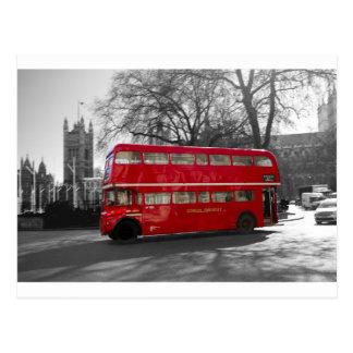 Carte Postale Autobus rouge de Londres Routemaster