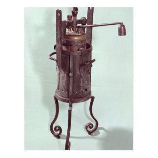 Carte Postale Autocuiseur inventé par Denis Papin 1679