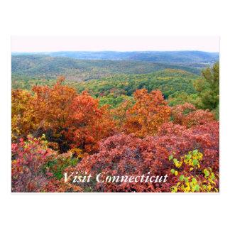 Carte Postale Automne dans le Connecticut