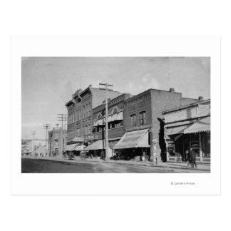 Carte Postale Automnes de Klamath, OU vue recherchant la rue
