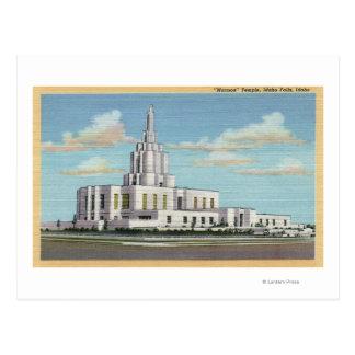 Carte Postale Automnes de l'Idaho, identification - vue de