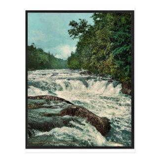 Carte Postale Automnes de Raquette, montagnes d'Adirondack