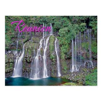 Carte Postale Automnes grands de Galet, la Réunion