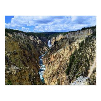 Carte Postale Automnes inférieurs de Yellowstone